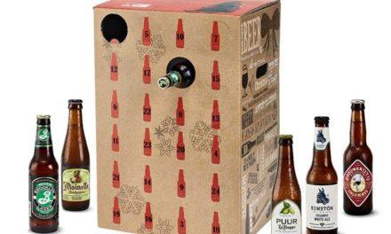 Calendrier de l'Avent bières artisanales Nature & Découvertes
