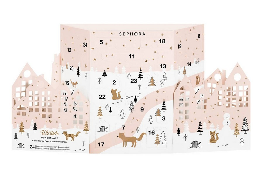 Calendrier Avant Sephora.Calendrier De L Avent Sephora 2017 Mon Calendrier De L